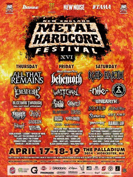 New England Metal And Hardcore Festival XVI