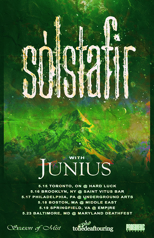 Solstafir/Junius US tour