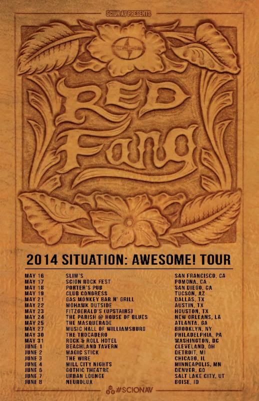 Red Fang US Tour