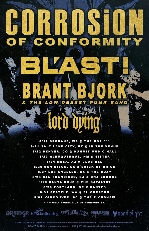 COC tour poster