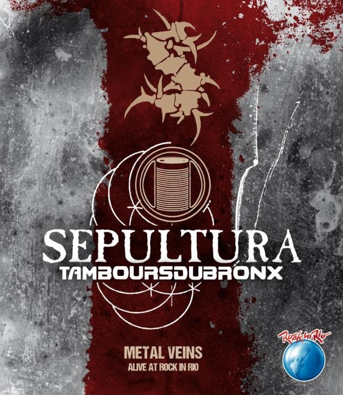 Sepultura and les tambours du bronx metal veins alive at rock in rio sepultura unveils plans for dvd filmed at rock in rio thecheapjerseys Choice Image