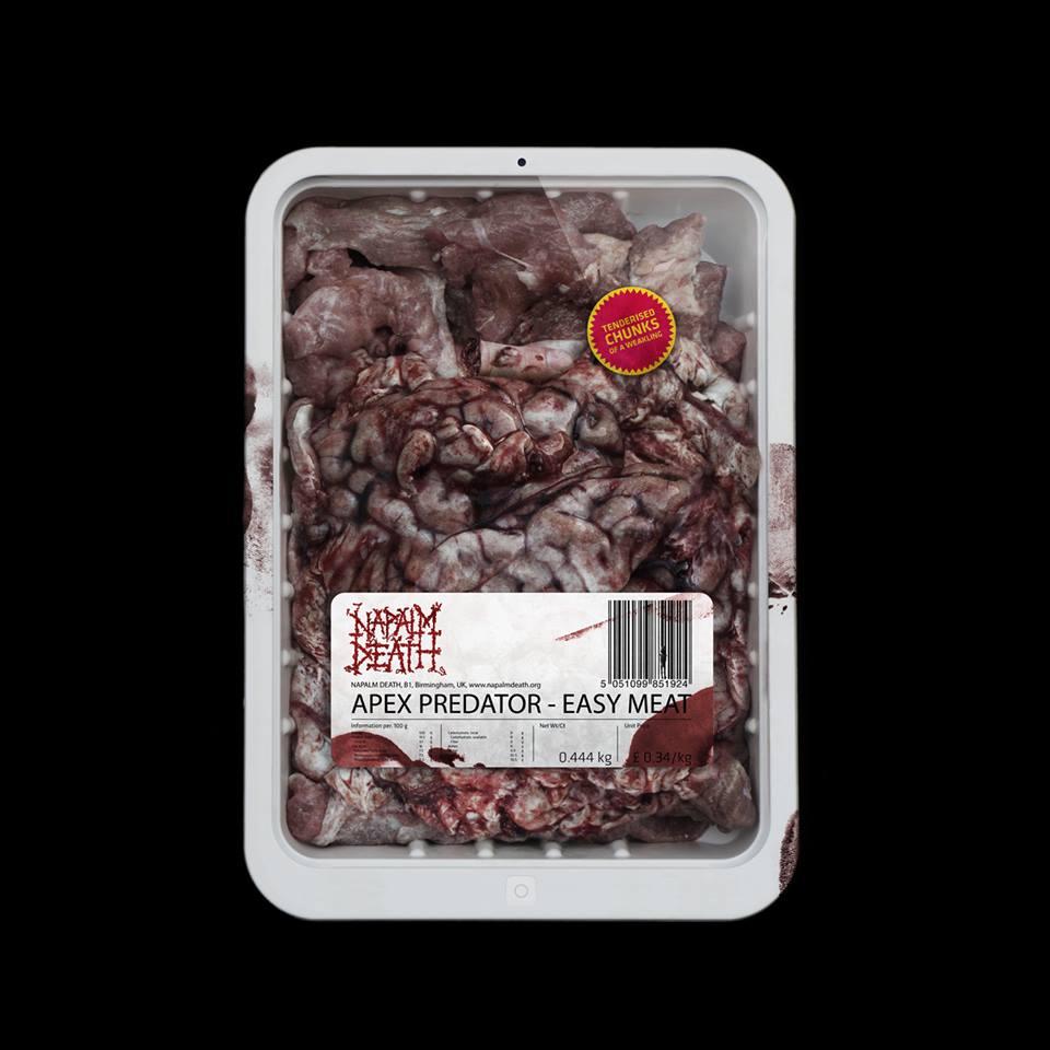 Napalm Death – Apex Predator: Easy Meat