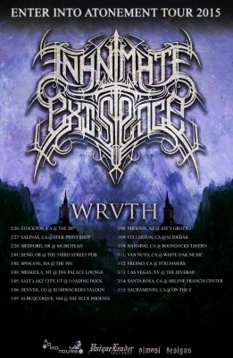 inanimate existance tour
