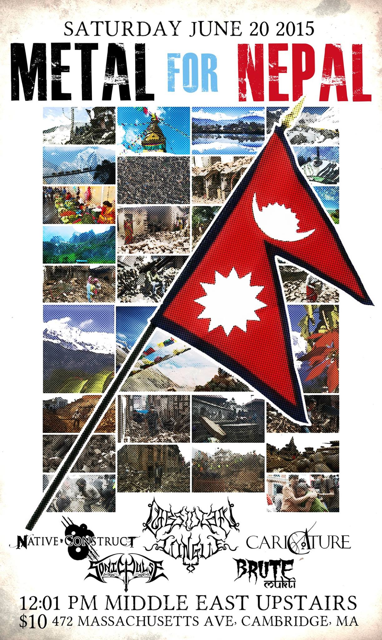 Metal For Nepal poster