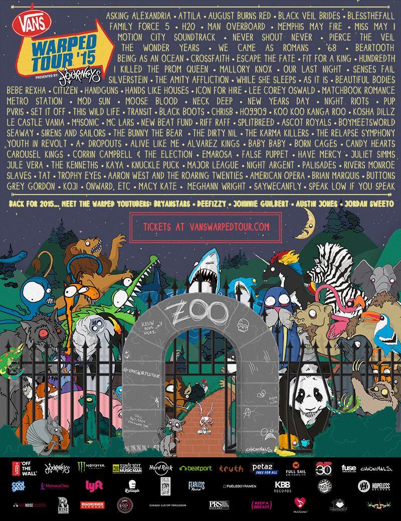 Warped-2015-lineup