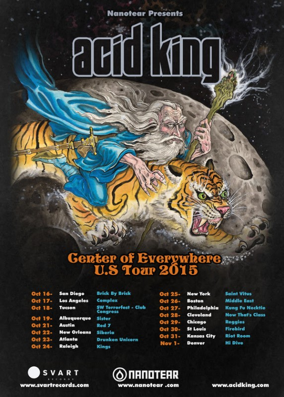 Technology Management Image: Acid King Announced Headline US Tour, First In 10 Years