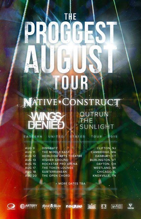 Proggest August tour NAtive Construct