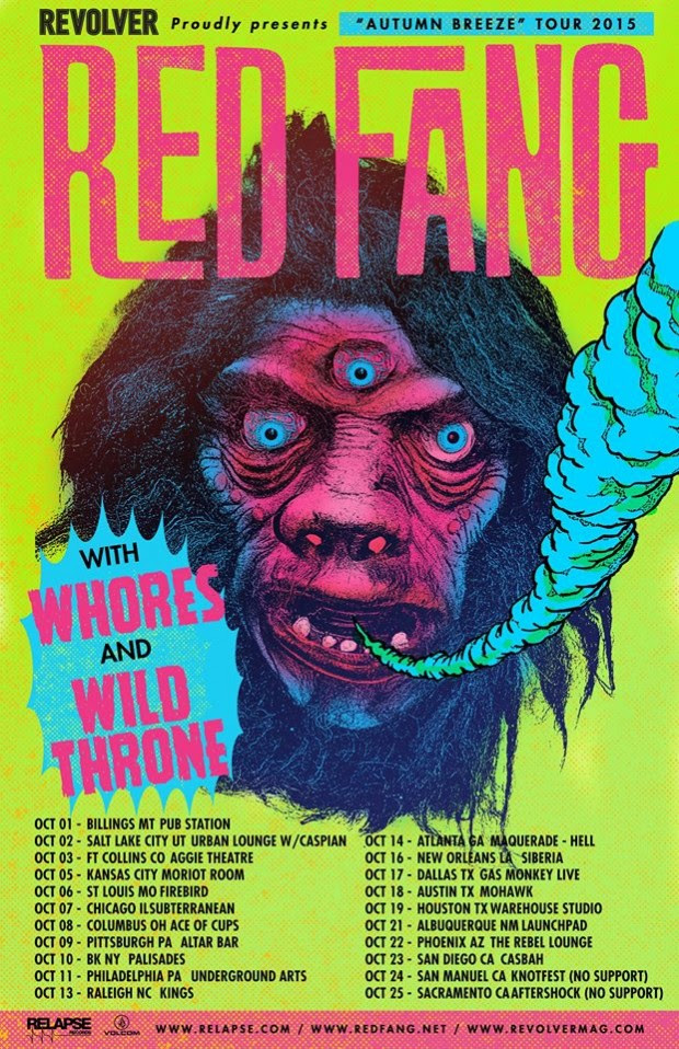 Red Fang Tour Kansas City
