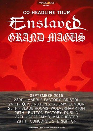 Enslaved Band Tour