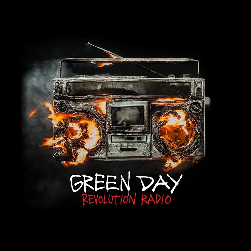 green day revolution radio cover ghostcultmag ghost cult magazine. Black Bedroom Furniture Sets. Home Design Ideas