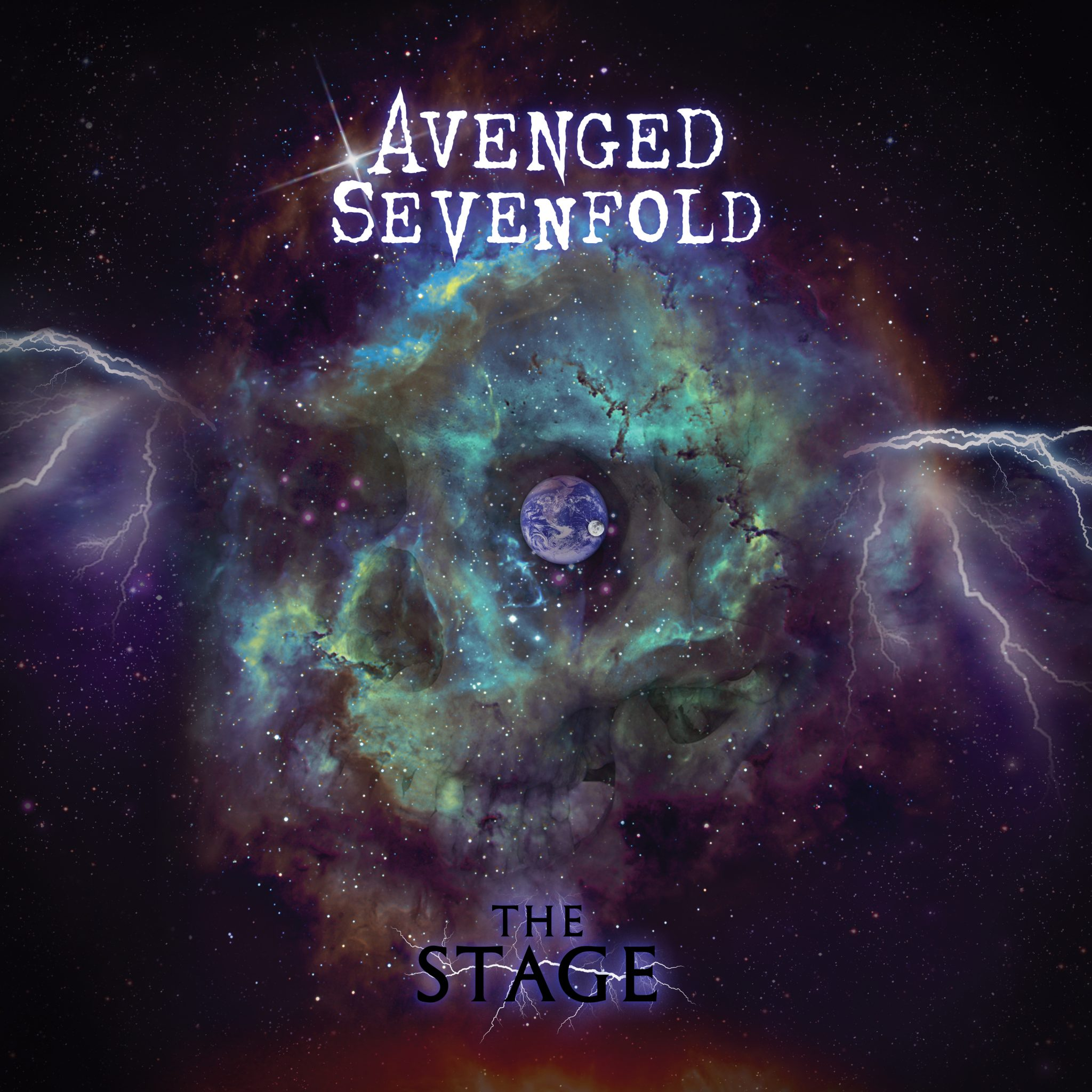 avenged sevenfold the stage album cover full size. Black Bedroom Furniture Sets. Home Design Ideas