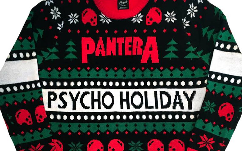 Pantera Releases The Psycho Holiday Sweater | Ghost Cult Magazine