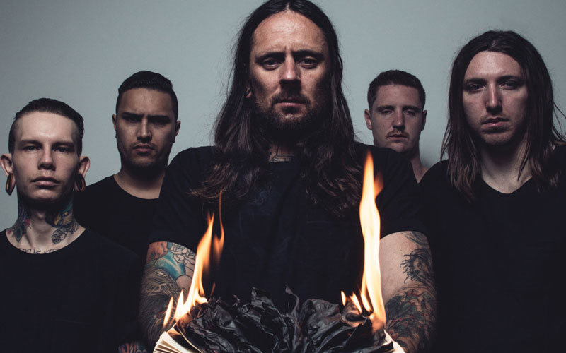 Thy Art Is Murder Rejoined By Vocalist CJ McMahon
