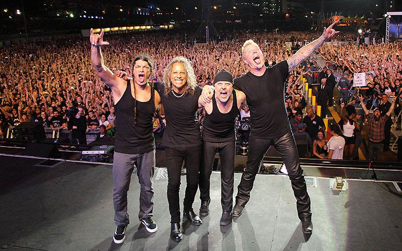 Metallica Books European Tour For 2019 With Ghost And