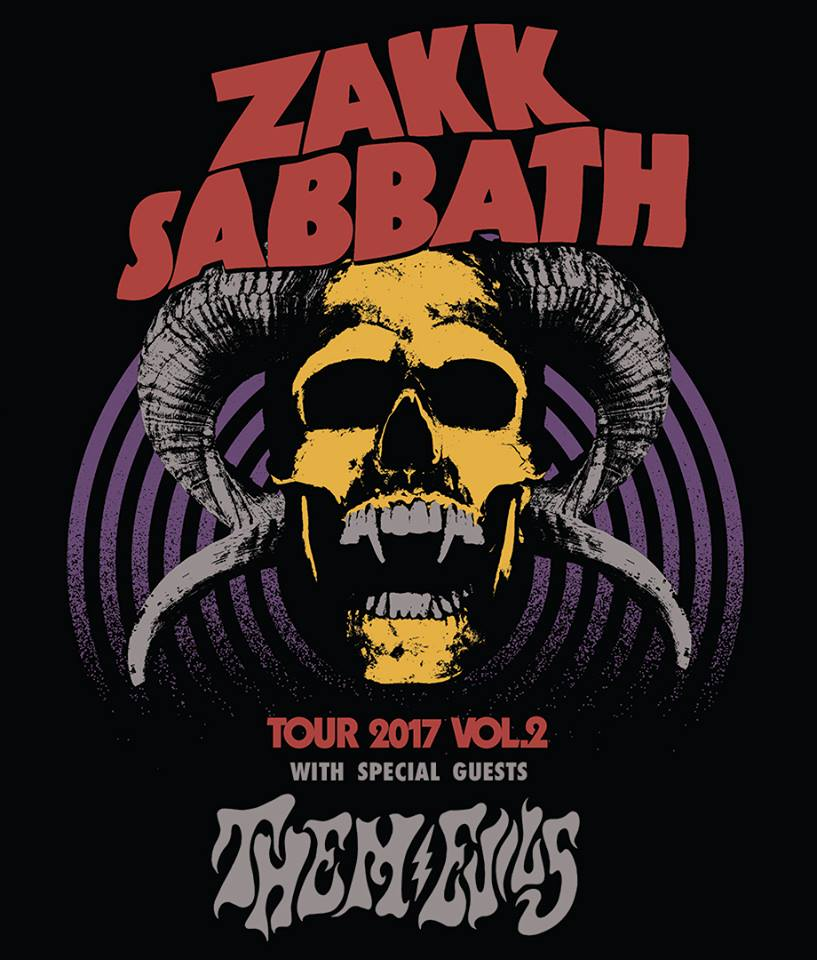 Zakk Sabbath Announce New U S Tour Dates Ghost Cult