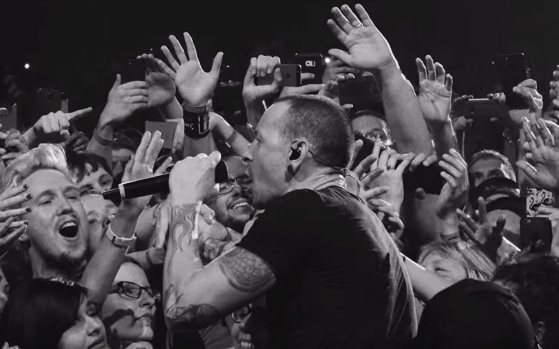 Linkin Park Shares Quot Crawling Quot Performance Clip From One