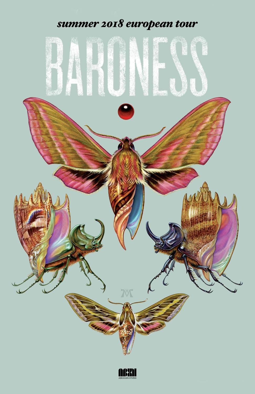 Baroness Announces Summer European Tour | Ghost Cult Magazine