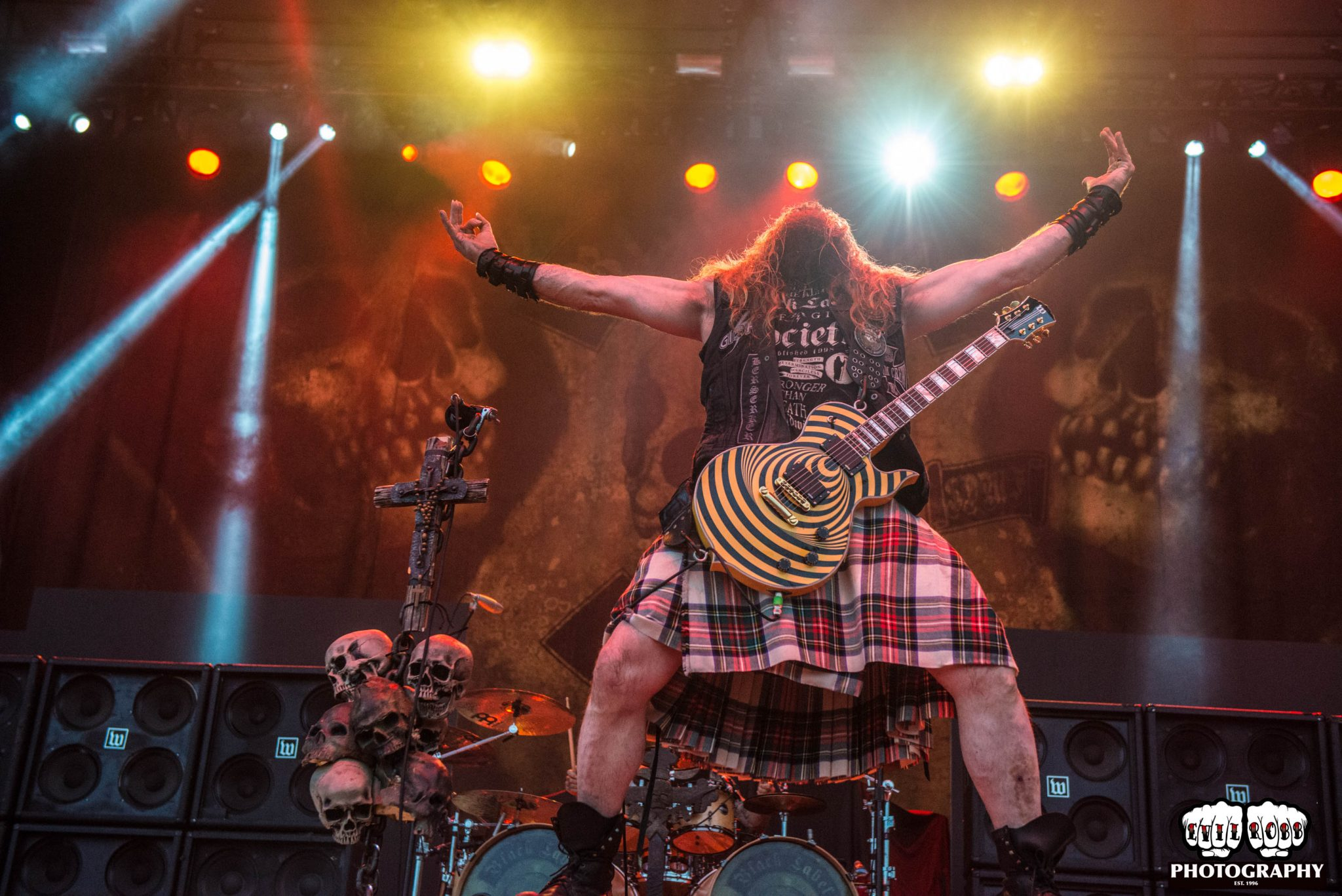 It is an image of Exhilarating Black Label Society Sonic Brew 20th Anniversary Review