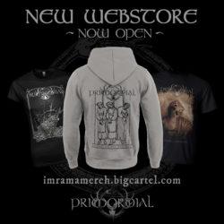 Primordial - New Webstore!